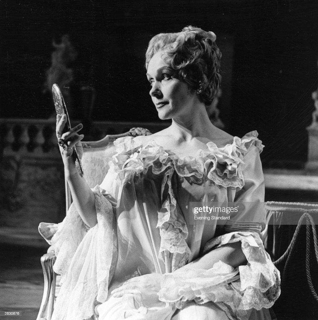 German born soprano Elisabeth Schwarzkopf seen here in costume as Marschallin for the opera 'Knight of the Rose' (Rosenkavalier) at Covent Garden, London.