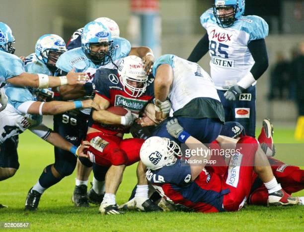 German Bowl 2003 Wolfsburg Braunschweig Lions Blue Devils 3637