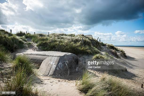 German bunker on Utah Beach, Normandy, France