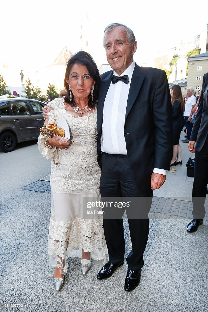 German business man Erich Sixt President of Sixt International car rental and his wife Regine Sixt Senior Executive Vice President of Sixt...
