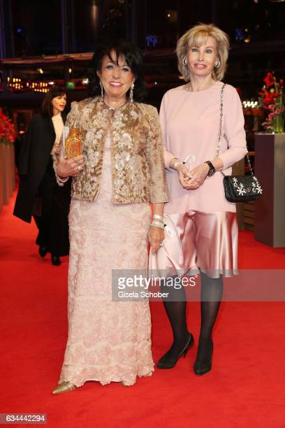 German business woman Regine Sixt and Claudia Huebner the 'Django' premiere during the 67th Berlinale International Film Festival Berlin at Berlinale...