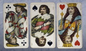 German cards for the game of the Trappola Dondorf edition 18201860 19th century