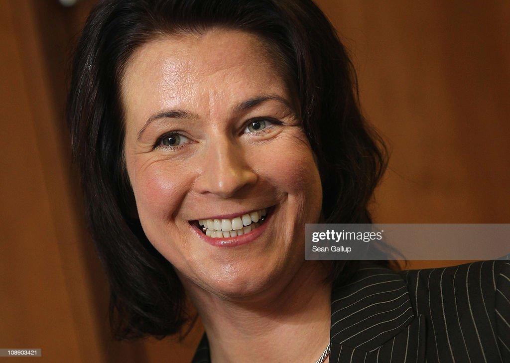 Claudia Pechstein - Press Conference