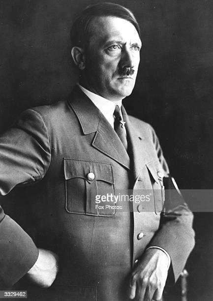 German chancellor Adolf Hitler in uniform