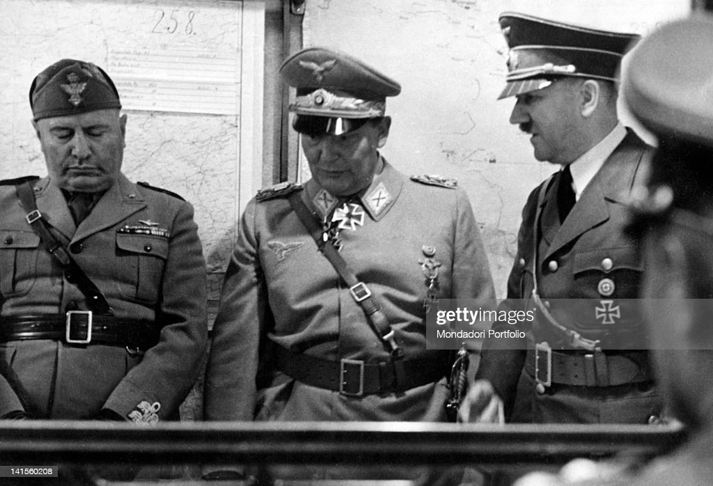 benito mussolini and adolf hitler As his plane put down in venice on 14 june 1934, adolf hitler felt himself at a decided disadvantage for one thing, he had neglected to wear a uniform it was he who had requested the.