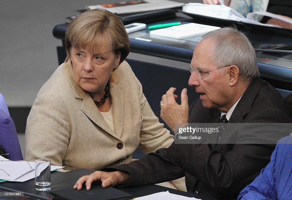Bundestag Votes On EFSF Expansion