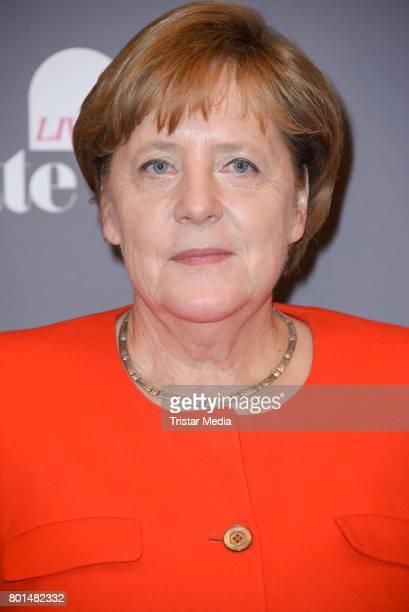 German chancellor Angela Merkel during the Brigitte Live Conversation on June 26 2017 in Berlin Germany