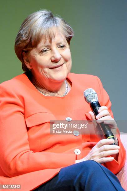 German chancellor Angela Merkel during the Brigitte Live Conversation on June 26 2017 in Berlin Germany