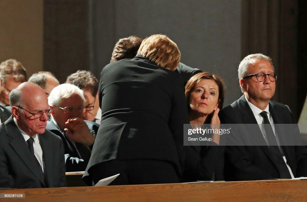 Speyer Holds Requiem For Helmut Kohl