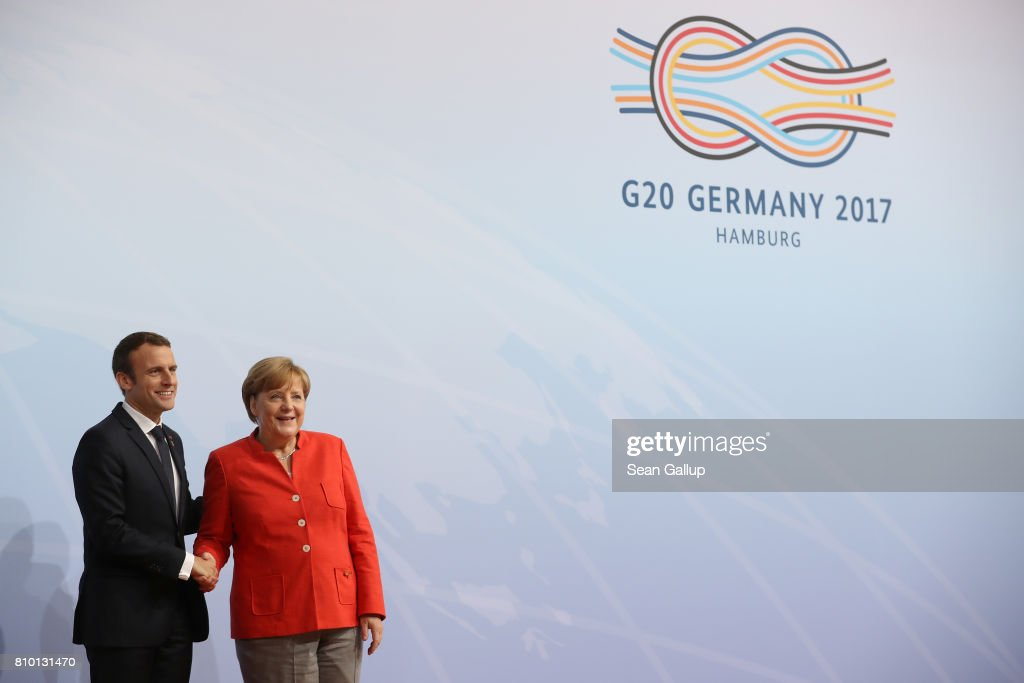 G20 Nations Hold Hamburg Summit : News Photo