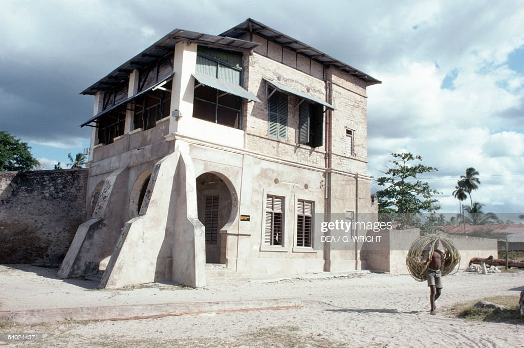 German colonial style customs house bagamoyo tanzania for German colonial house