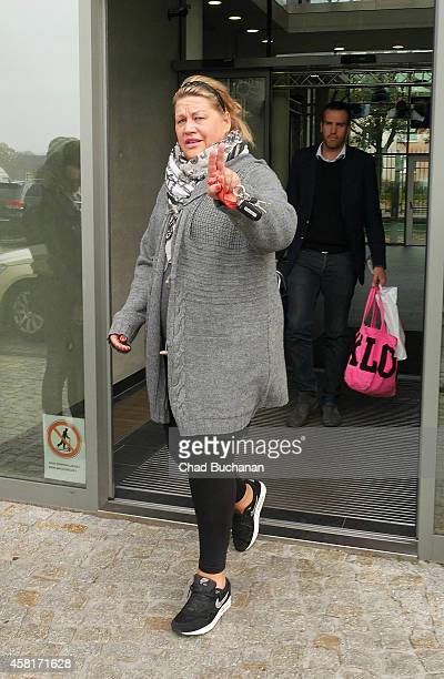 German comedian Ilka Bessin sighted at Sat1 television studios on October 31 2014 in Berlin Germany