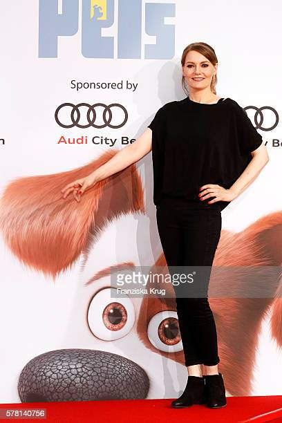 German comedian Martina Hill attends the premiere of the film 'PETS' at CineStar on July 20 2016 in Berlin Germany