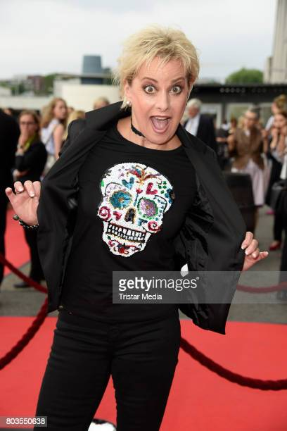 German comedian Tanja Schumann attends the 'Billy Elliott The Musical' Hamburg Premiere at Mehr Theater on June 29 2017 in Hamburg Germany