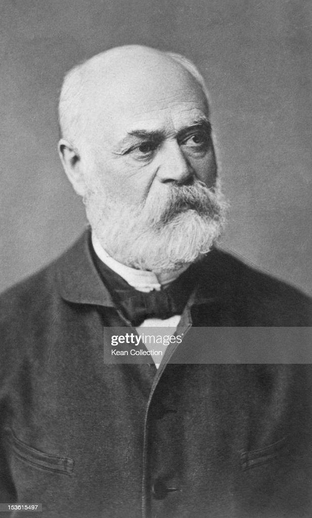German composer and pianist Adolf von Henselt (1814 - 1889), circa 1880.