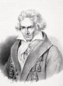German Composer From Figaro Journal For Literatur Kunst Og Musik Published In Copenhagen 1841