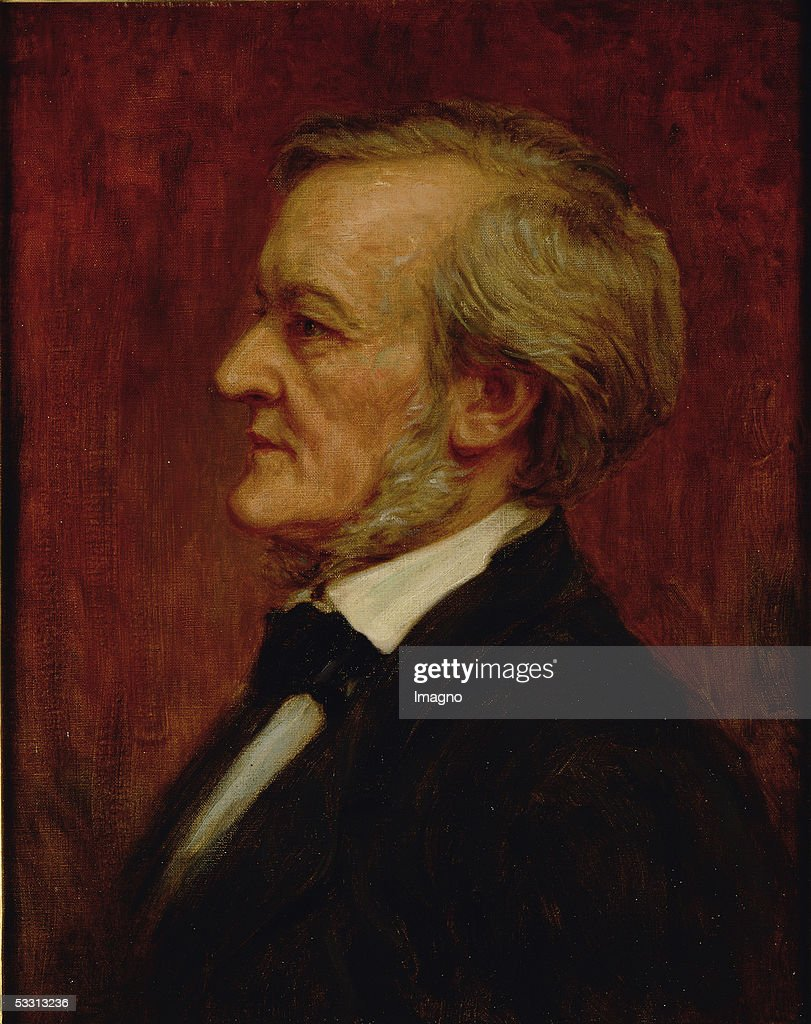 German composer <a gi-track='captionPersonalityLinkClicked' href=/galleries/search?phrase=Richard+Wagner+-+Composer&family=editorial&specificpeople=118790 ng-click='$event.stopPropagation()'>Richard Wagner</a> (1813-1883), circa 1875. (Photo by Imagno/Getty Images) [<a gi-track='captionPersonalityLinkClicked' href=/galleries/search?phrase=Richard+Wagner+-+Composer&family=editorial&specificpeople=118790 ng-click='$event.stopPropagation()'>Richard Wagner</a> (1813-1883), dt. Komponist. Gemaelde.]