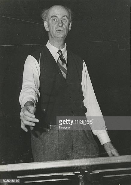 German conductor Wilhelm Furtwängler circa 1950