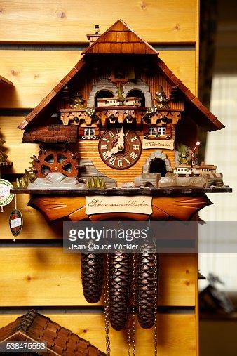 German cuckoo clock traditionally made in Triberg