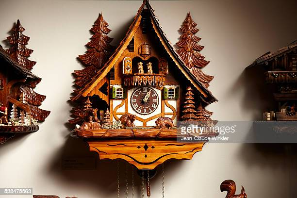 German cuckoo clock traditionally made in Triberg