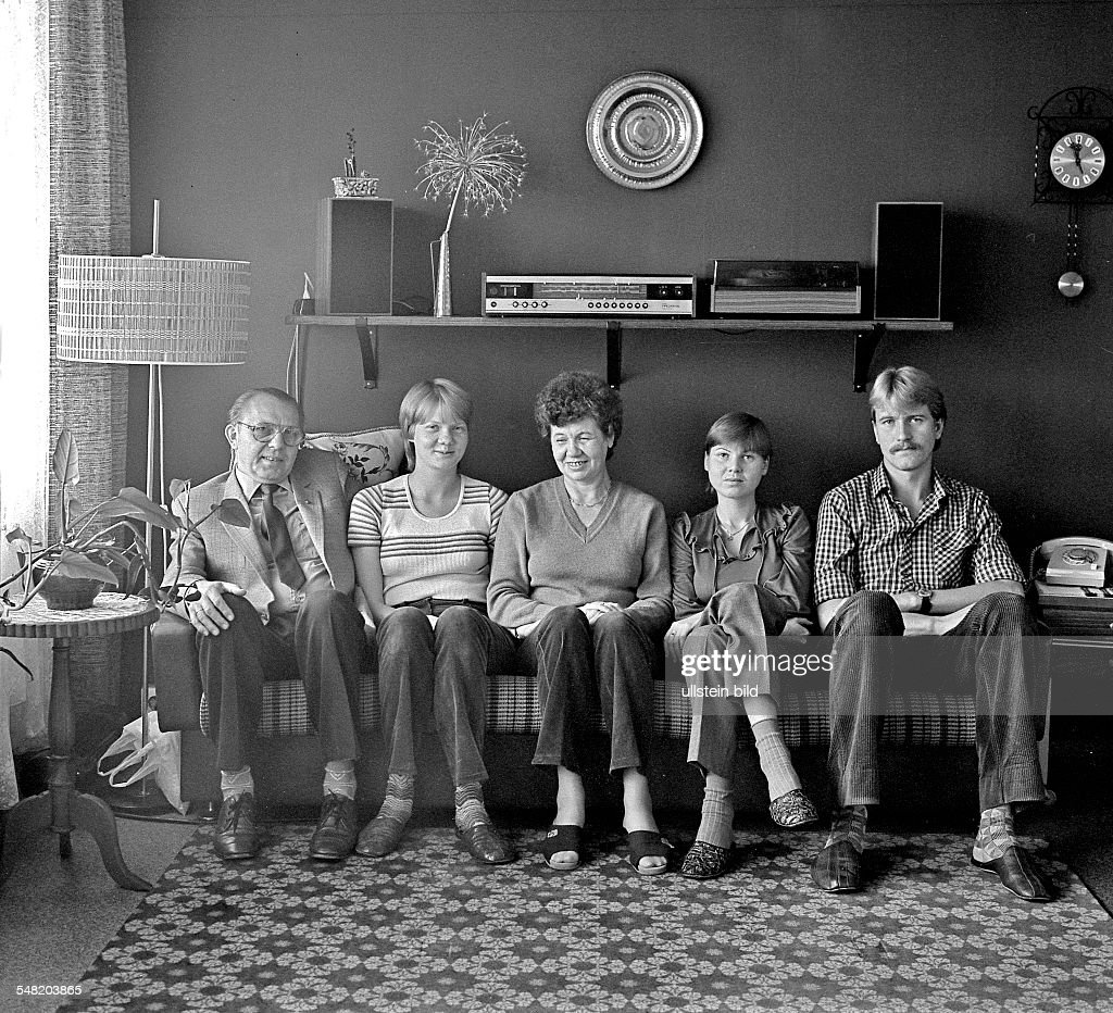german democratic republic bezirk berlin east berlin family of a pictures getty images. Black Bedroom Furniture Sets. Home Design Ideas