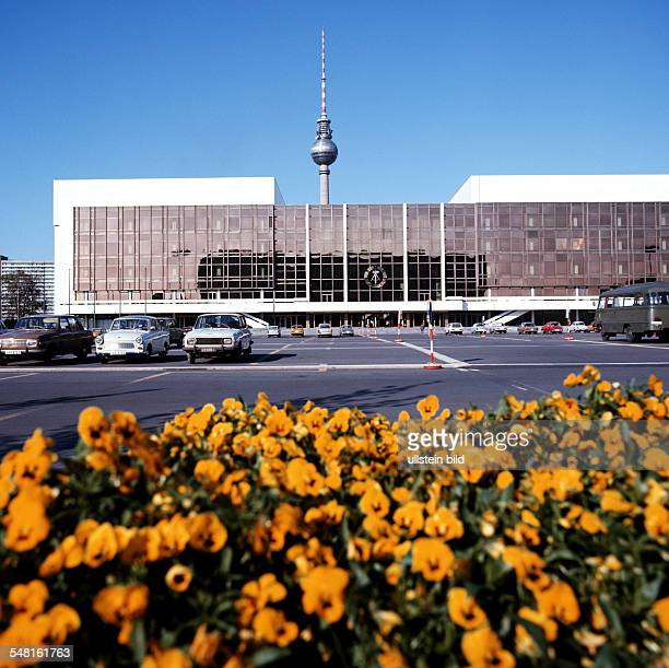 German Democratic Republic Bezirk Berlin East Berlin 'Palast der Republic' where the parliament of the GDR is situated