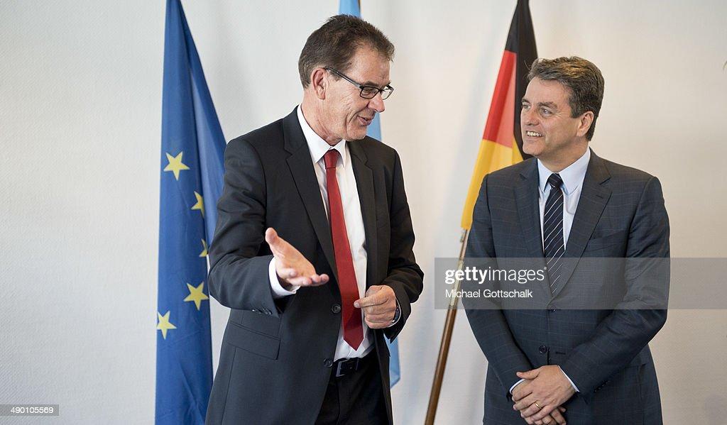 German Development Minister Meets Head Of WTO