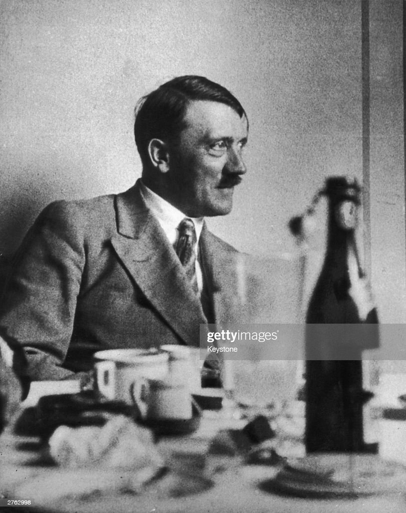 German dictator <a gi-track='captionPersonalityLinkClicked' href=/galleries/search?phrase=Adolf+Hitler&family=editorial&specificpeople=90219 ng-click='$event.stopPropagation()'>Adolf Hitler</a> (1889 - 1945) at his mountain retreat in Berchtesgaden, 6th March 1933.