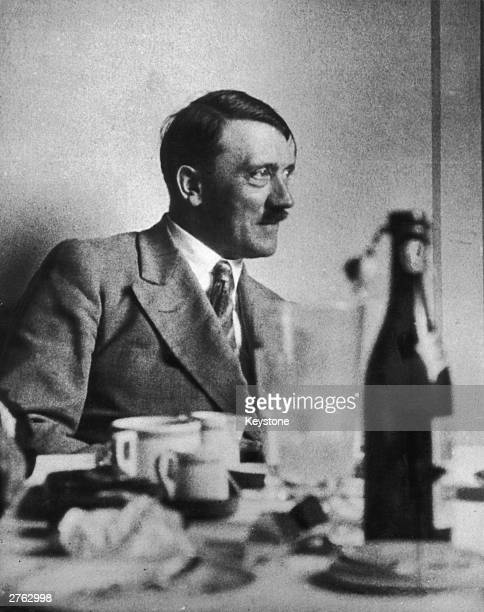 German dictator Adolf Hitler at his mountain retreat in Berchtesgaden 6th March 1933
