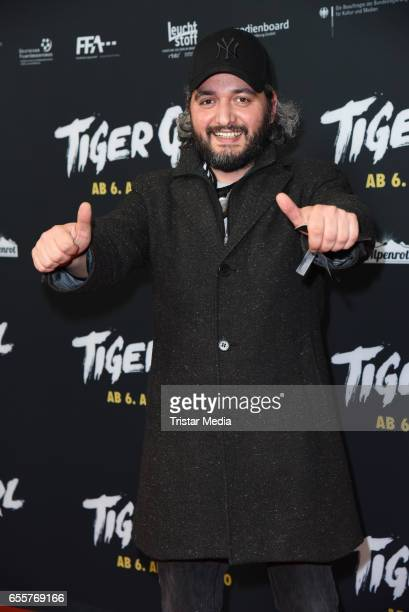 German director Cueneyt Kaya attends the premiere of the film 'Tiger Girl' at Zoo Palast on March 20 2017 in Berlin Germany