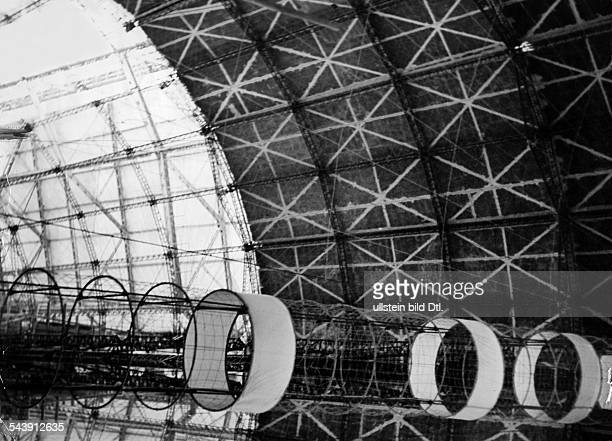 German Empire Aviation vertical shaft inside the fuselage of the airship Zeppelin LZ 129 'Hindenburg' Photographer Willi Ruge Published by 'Berliner...