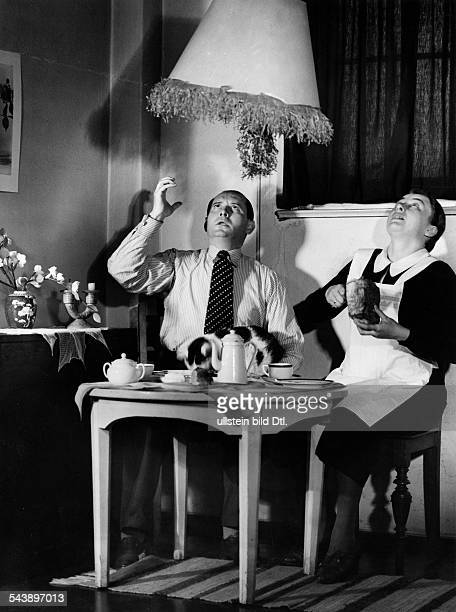 children's carnival downstairs neighbours are angry because of the noise Photographer Peter Weller 1936Vintage property of ullstein bild