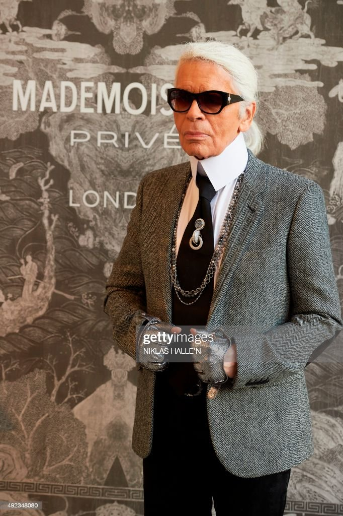 Karl Lagerfeld Fashion Designer Getty Images