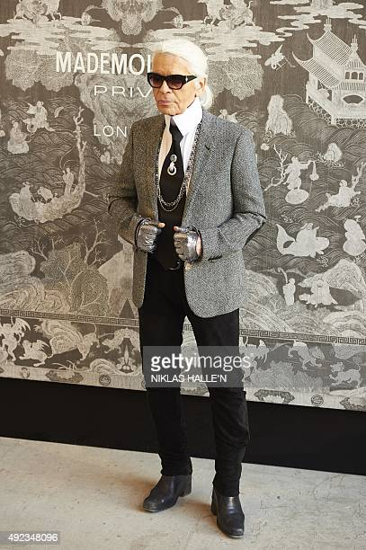 Karl Lagerfeld Designer Label Stock Photos And Pictures