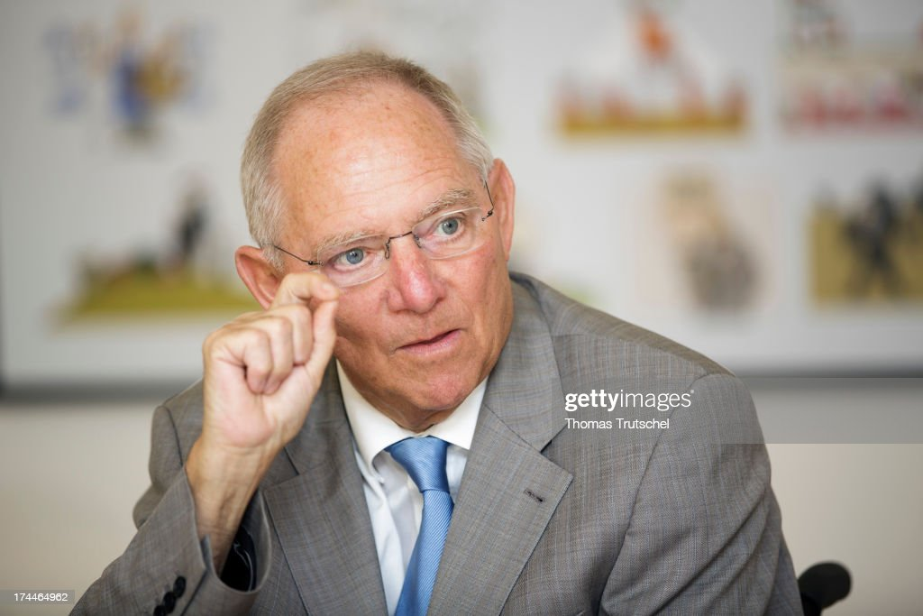 Wolfgang Schaeuble Interview