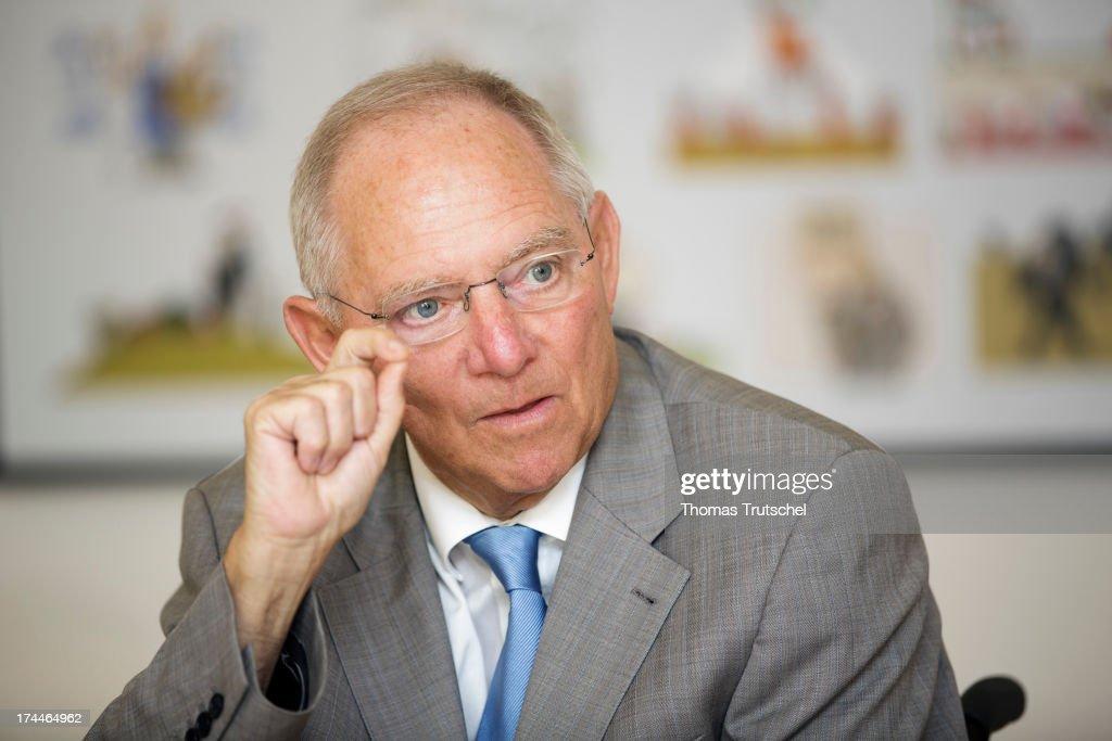 Wolfgang Schaeuble Interview