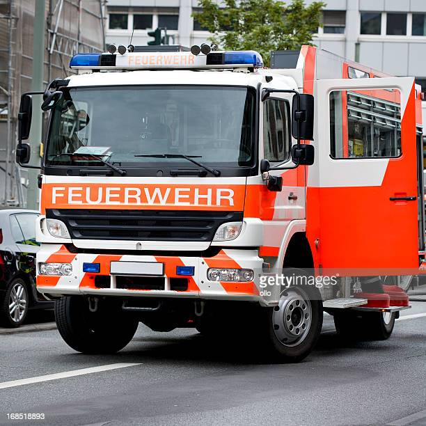 Deutsche fire Feuerwehrauto
