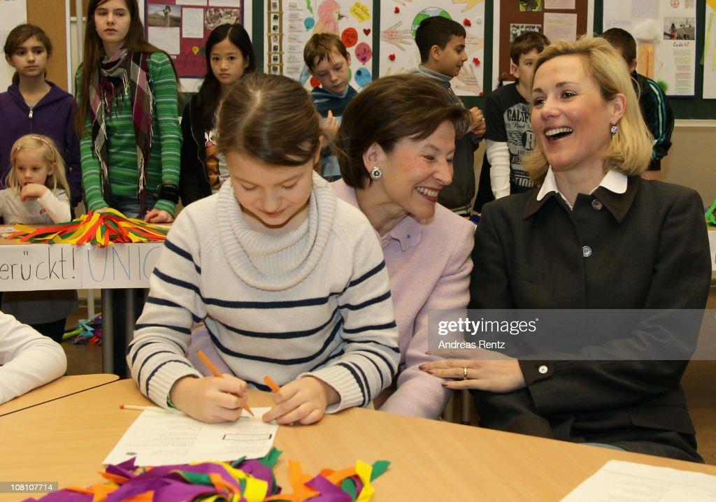 Bettina Wulff To Assume UNICEF Patronage