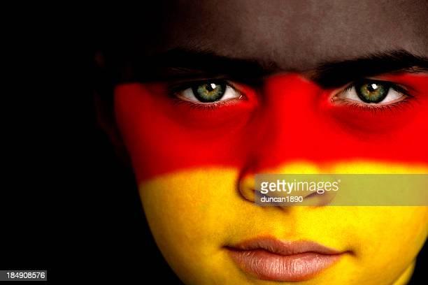 Deutscher Fußball-fan