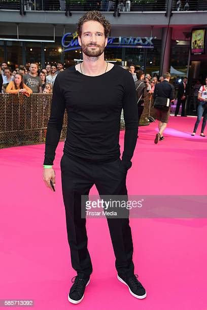 German football player Arne Friedrich attends the Suicide Squad Live Event at CineStar on August 3 2016 in Berlin Germany