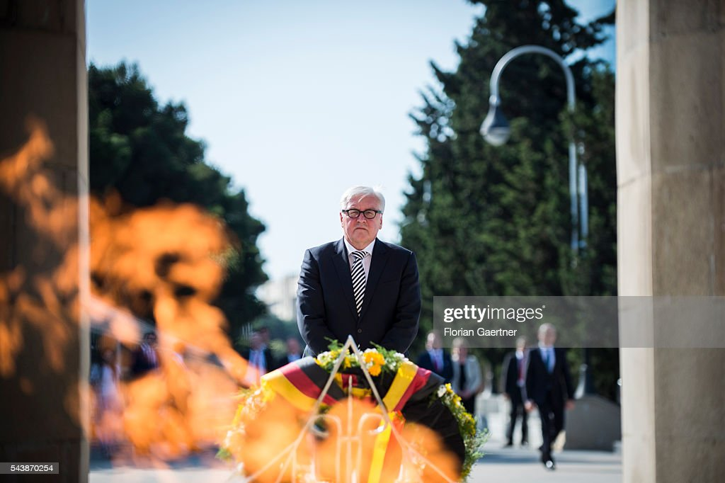 German Foreign Minister Steinmeier Travels To The South Caucasus