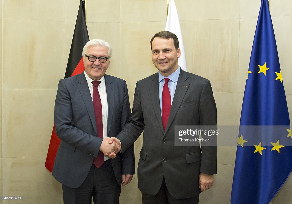German Foreign Minister Steinmeier On Inaugural Visit Following New German Government