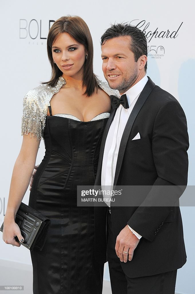 German former football player Lothar Matthaus arrives at amfAR's Cinema Against Aids 2010 benefit gala on May 20, 2010 in Antibes, southeastern France.