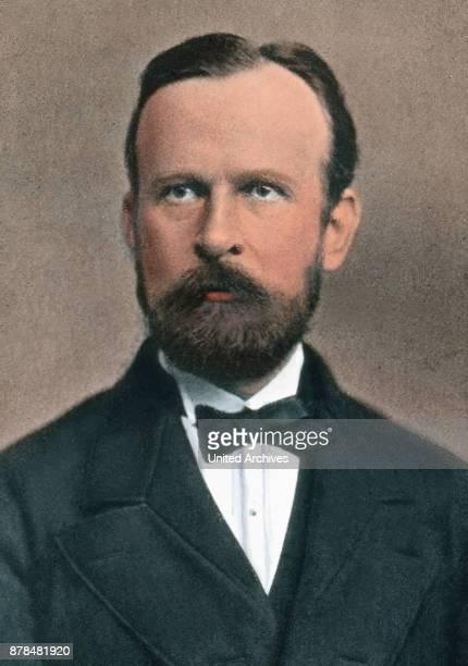 German geographer and traveler Ferdinand von Richthofen