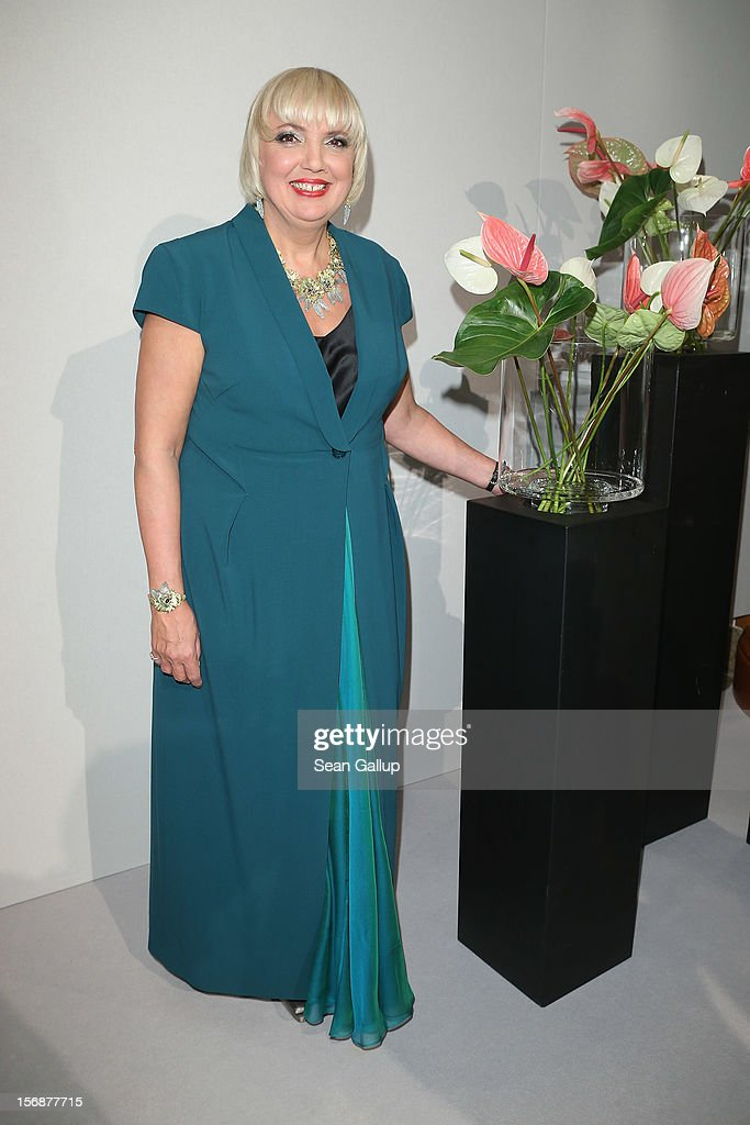 German Greens Party (Buendnis 90/Die Gruenen) co-chairwoman Claudia Roth attends the 2012 Bundespresseball (Federal Press Ball) at the Intercontinental Hotel on November 23, 2012 in Berlin, Germany.