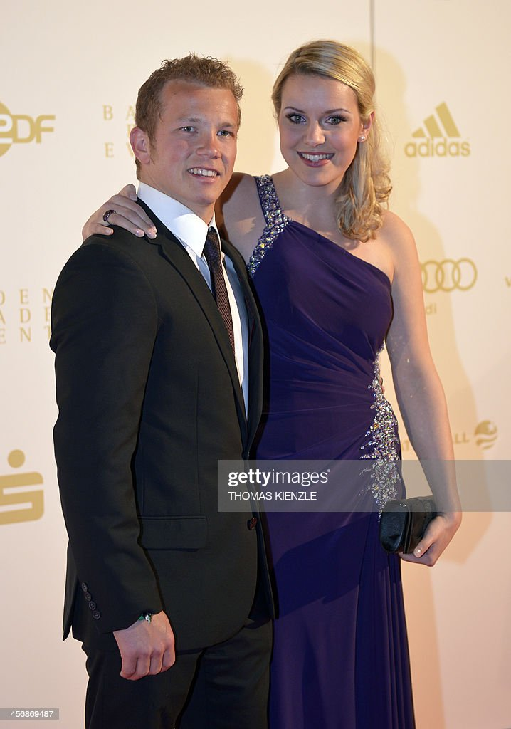 Düchting  German gymnast Fabian Hambuechen and his wife Caroline Duechting ...