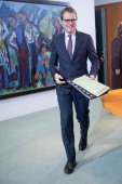 German Health Minister Daniel Bahr prior to the weekly cabinet meeting on November 20 2013 in Berlin Germany The Cabinet meets for the last time in...
