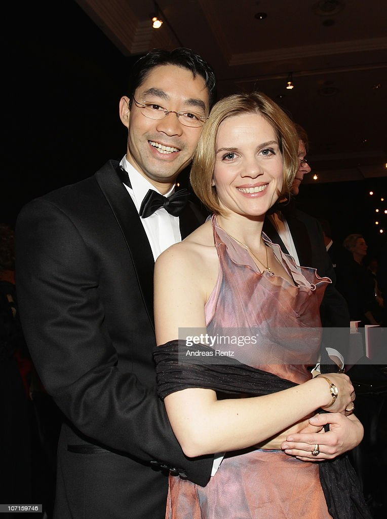 German Health Minister Philipp Roesler and his wife Wiebke attend the annual press ball 'Bundespresseball' at Hotel Intercontinental on November 26...