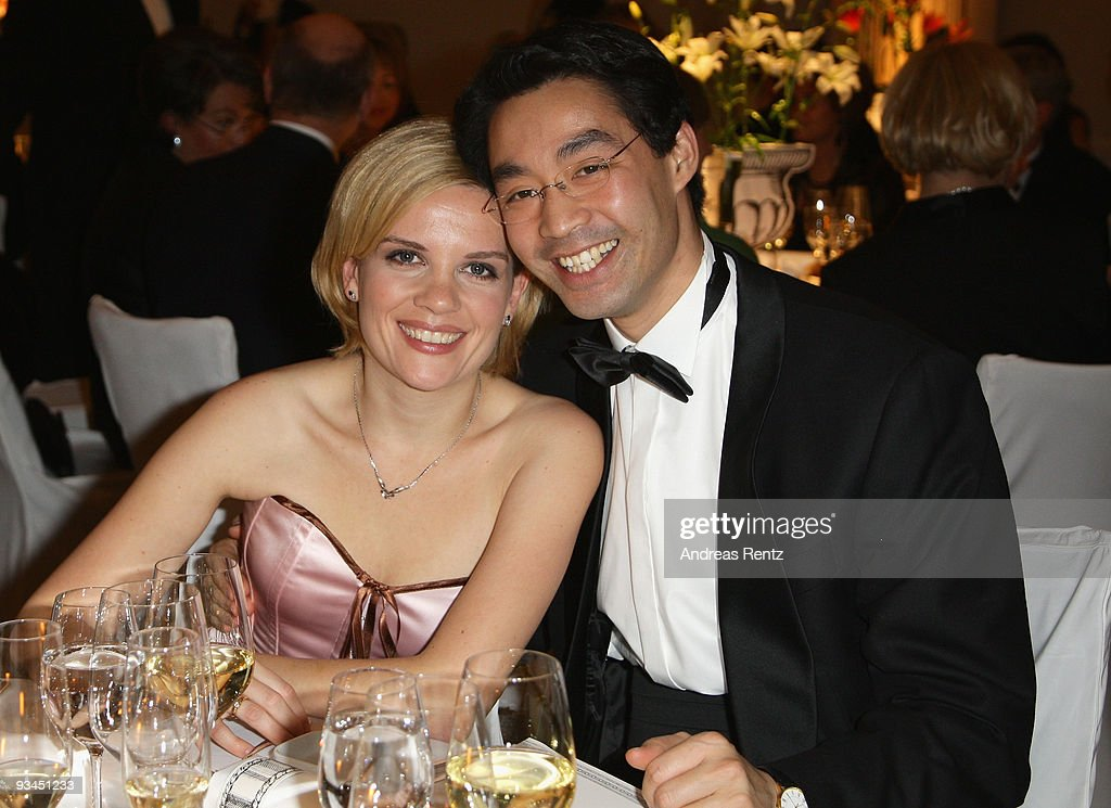 German Health Minister Philipp Roesler and his wife Wiebke Roesler attend the annual press ball 'Bundespresseball' at the Intercontinental Hotel in...