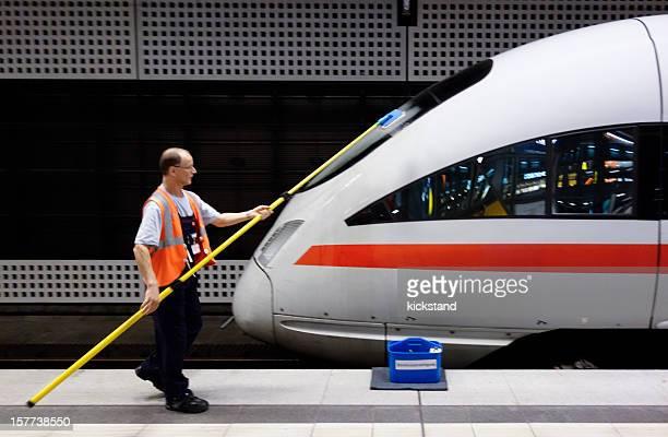 Deutsche high-speed-Zug